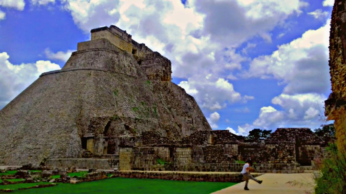 Piramide  Uxmal   #yucatán  #mexico  #rutapuc  #culture  #maya