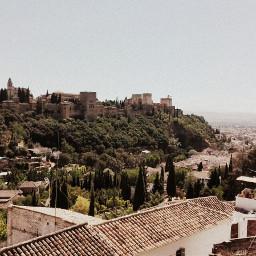 spain granada alhambra palace andalucia